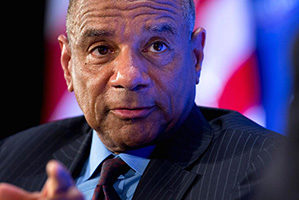 Close-up of Kenneth Chenault
