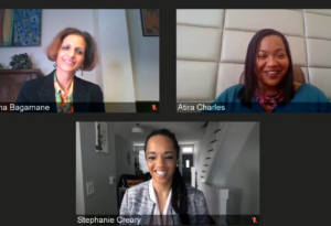 Panelists at the 2.24 leading diversity virtual lecture